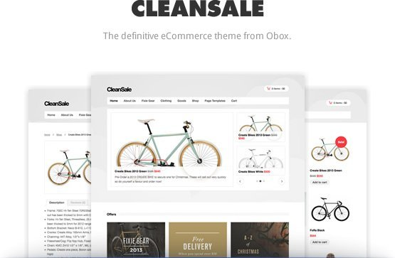 CleanSale WordPress / WooCommerce Theme