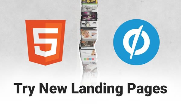 Landing Page Templates Banner