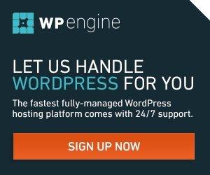 WP Engine Banner