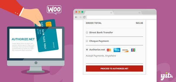 YITH WooCommerce Authorize.net Payment Gateway Banner