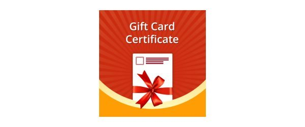 Gift Card / Certificate Banner