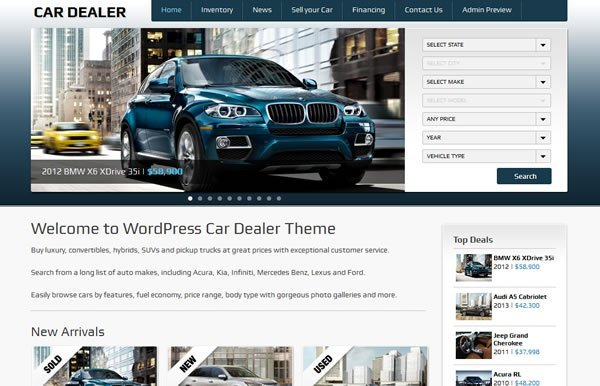 Car Dealer 4.0 WordPress Theme
