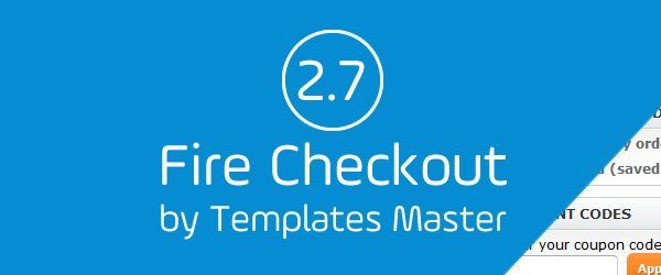 Fire Checkout 2.7 Magento Extension