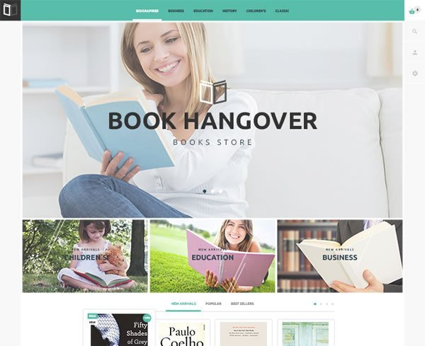 Free Book Store PrestaShop Theme