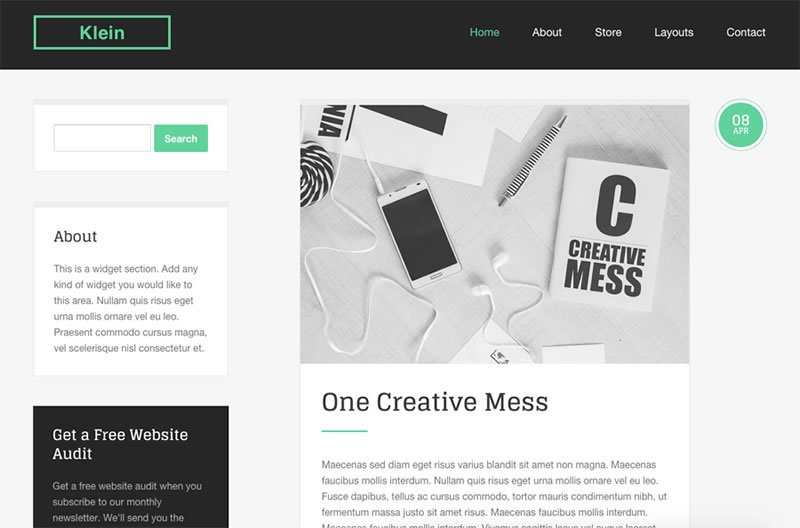 Klein iThemes Builder WordPress Theme