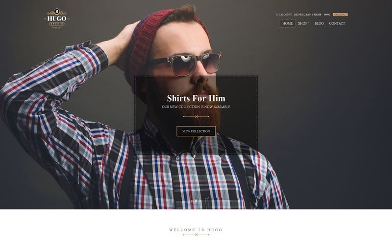 Hugo Fashion Store WooCommerce Theme