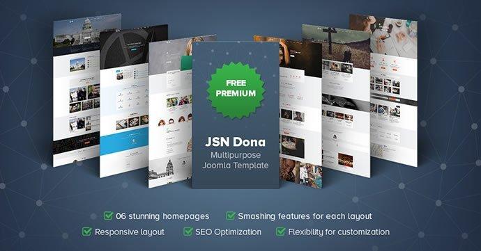 JSN Dona Free Premium Joomla Template