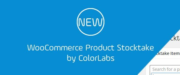 WooCommerce Product Stocktake