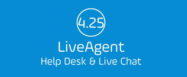 LiveAgent 4.25 Update