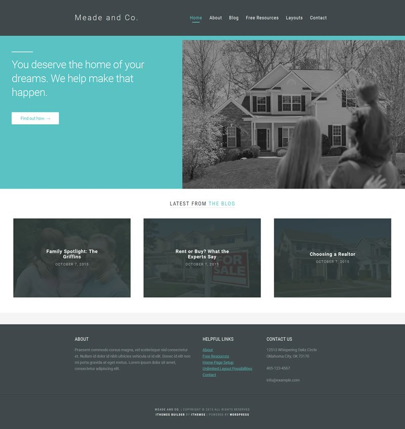 Meade iThemes Builder Theme