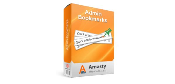 Admin Bookmarks Magento Extension