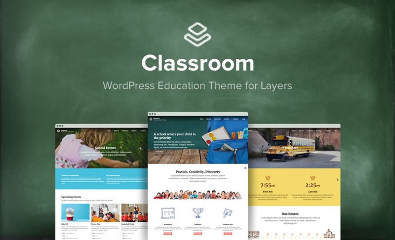 Classroom Layers Child Theme