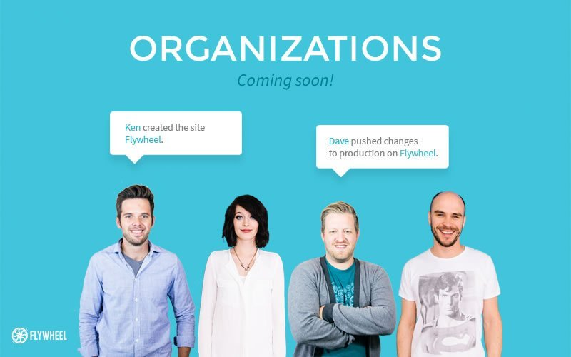 Organizations at Flywheel