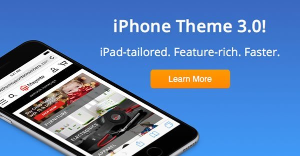 iPhone Theme 3.0 for Magento