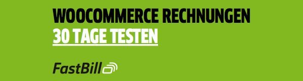 FastBill - WooCommerce für Rechnungen