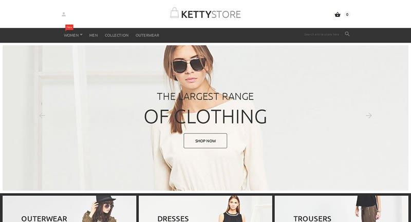Ketty Store Magento Theme