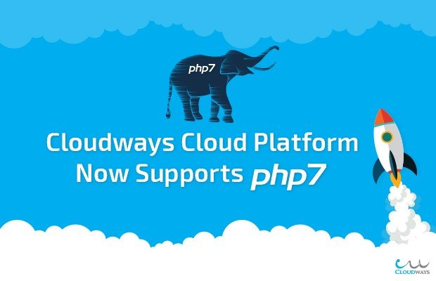 Cloudways - Support of PHP 7