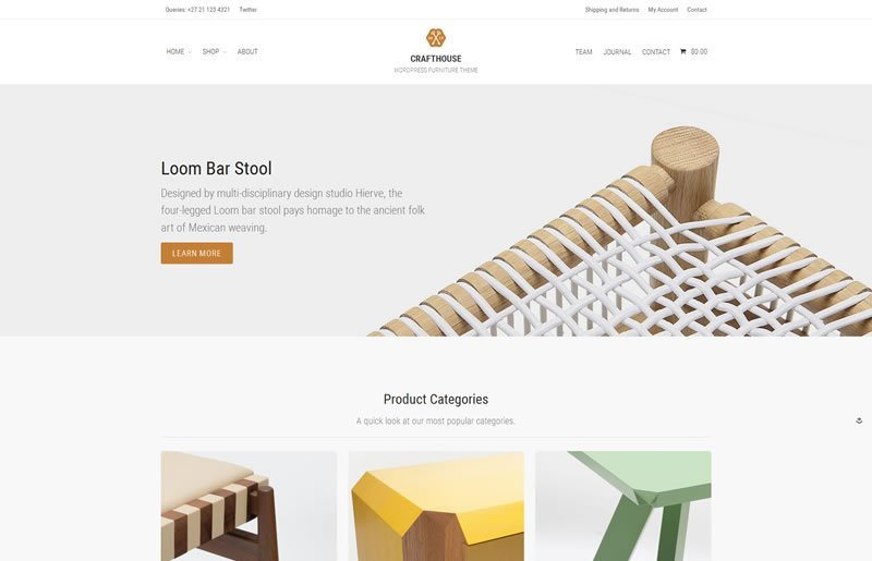 Crafthouse Layers WooCommerce Theme