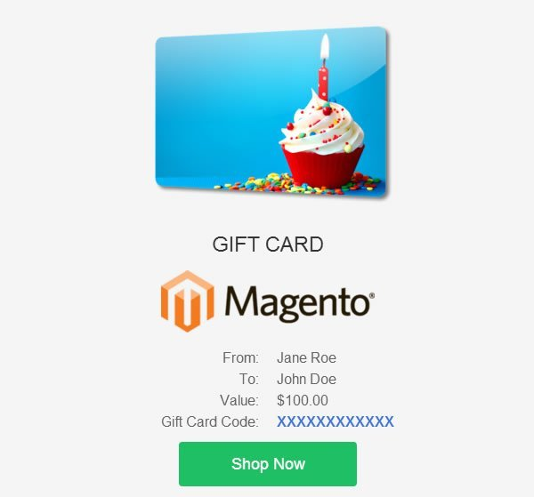 Gift Card / Certificate 2.0 Magento Extension
