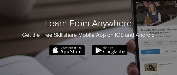 Skillshare Mobile Screenshot