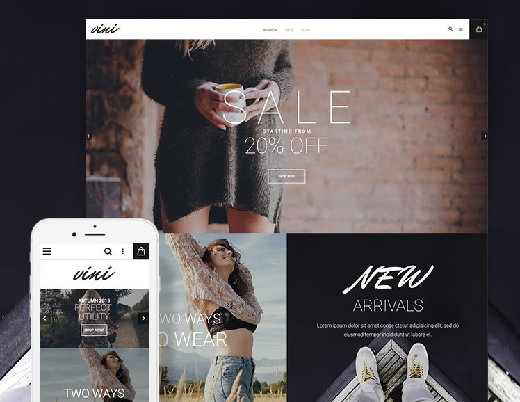 Vini Magento 2 Fashion Store Theme