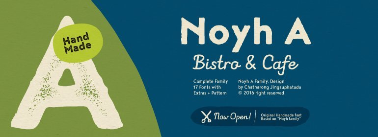 Noyh A Font Family