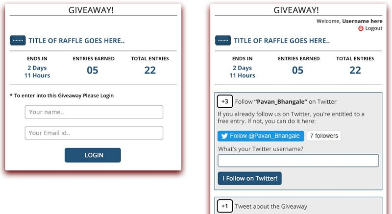 WP Raffle WordPress Plugin