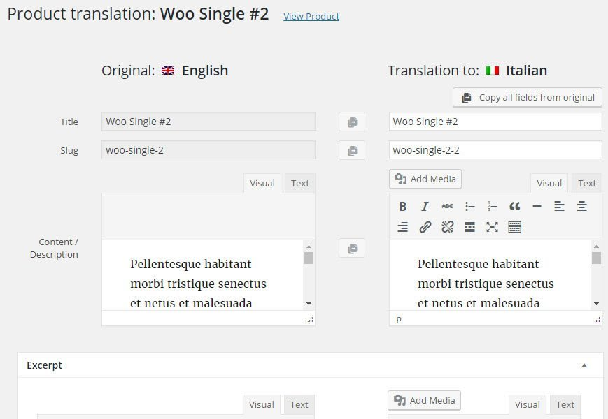 WPML 3.4 with New Translation Editor