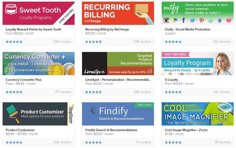 Partner-friendly Shopify Apps
