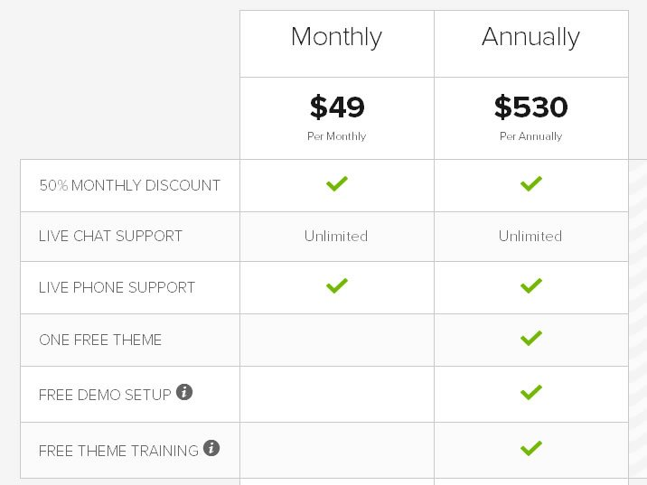 WP Live Pricing
