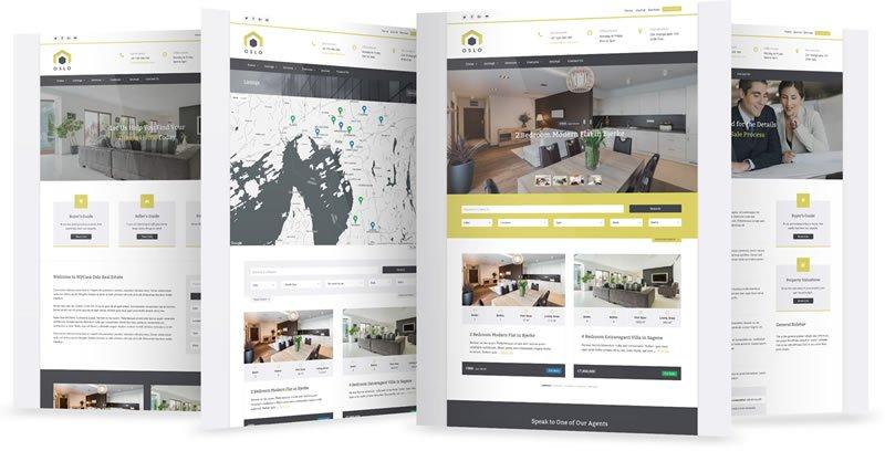WPCasa Oslo Real Estate WordPress Theme