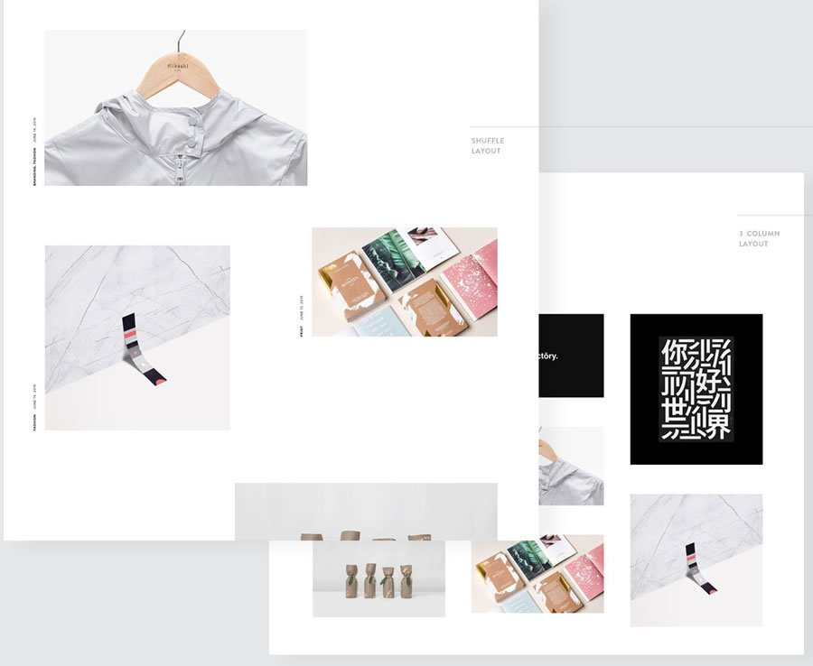 Eris Portfolio Layouts