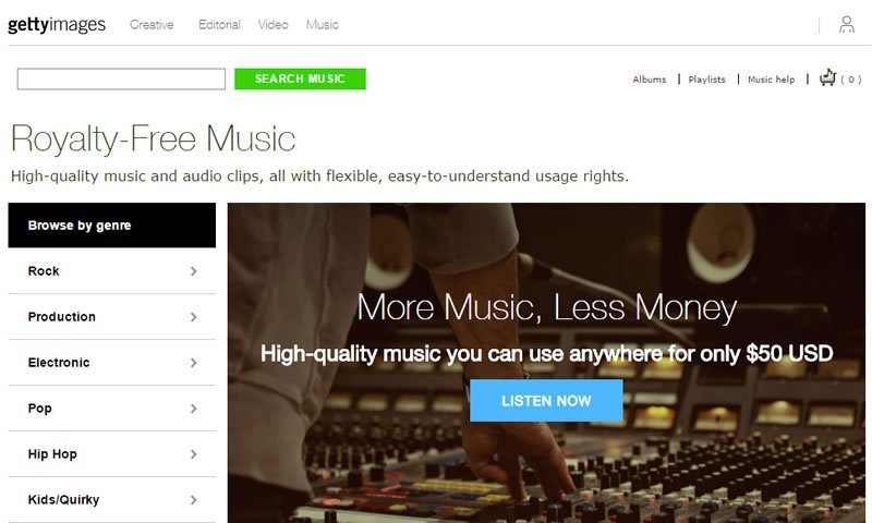 Getty Images Music