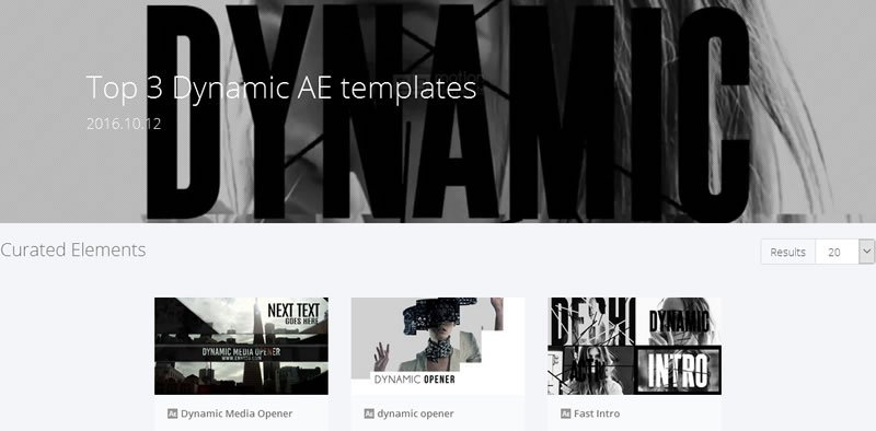 MotionElements AE Templates