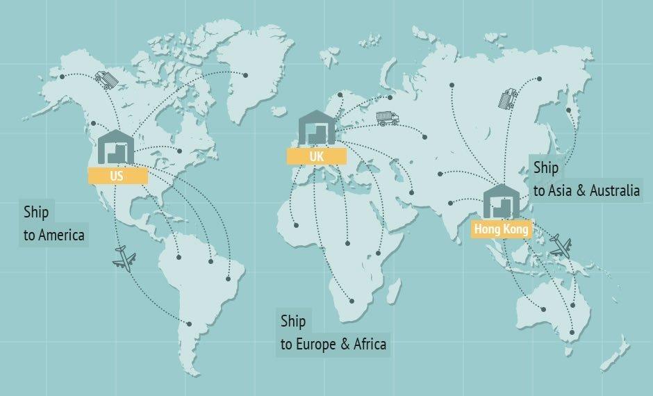 Warehouse Map