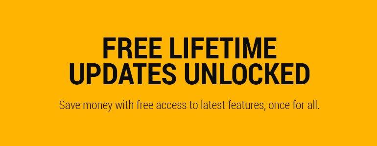 Free Lifetime Updates