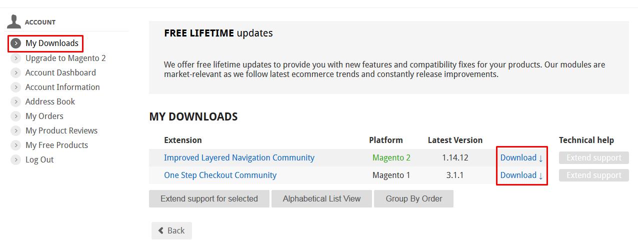 Amasty: Free Lifetime Updates for Magento 1 & 2 - stubble IO