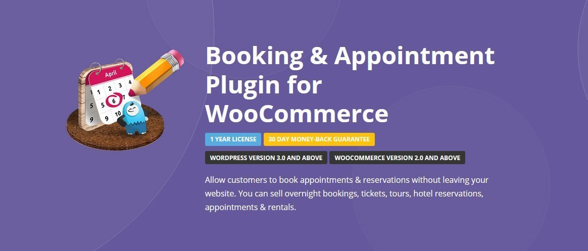 WooCommerce Booking & Appointment Plugin 4.0