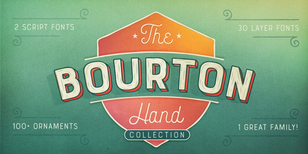 Bourton Hand Font
