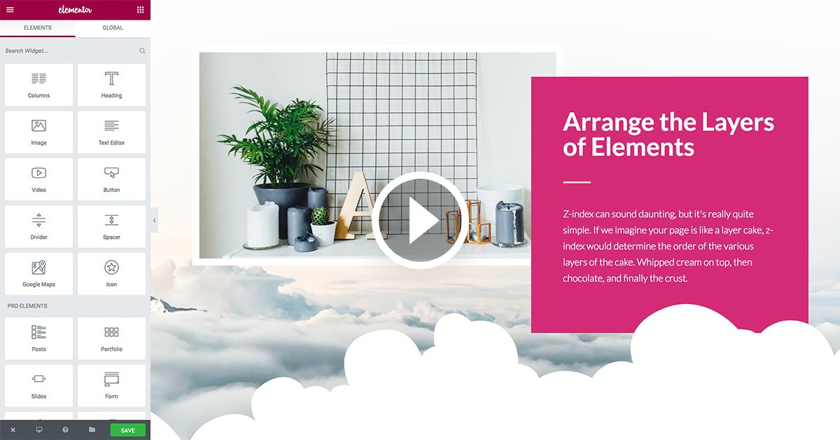 Elementor Editor UI