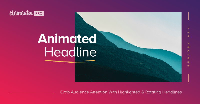 Animated Headline