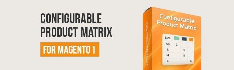 Configurable Product Matrix