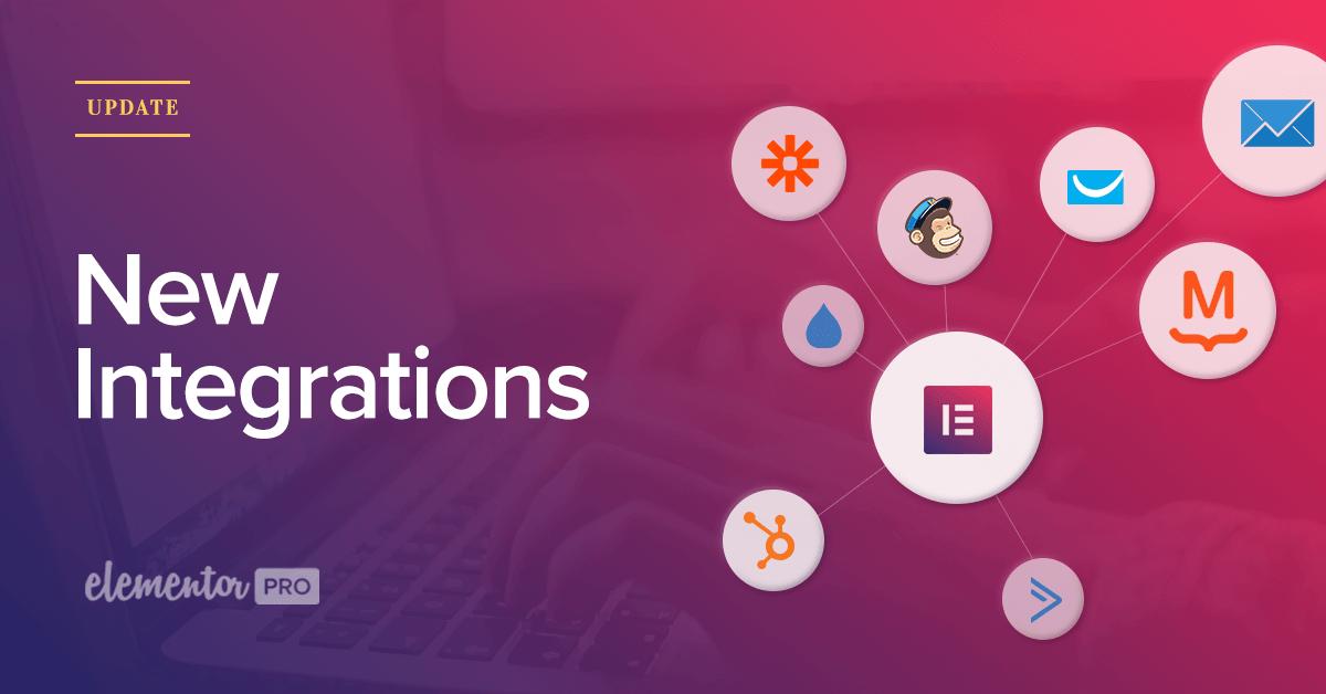 Elementor Pro: New Marketing Automation & CRM Integrations - stubble IO