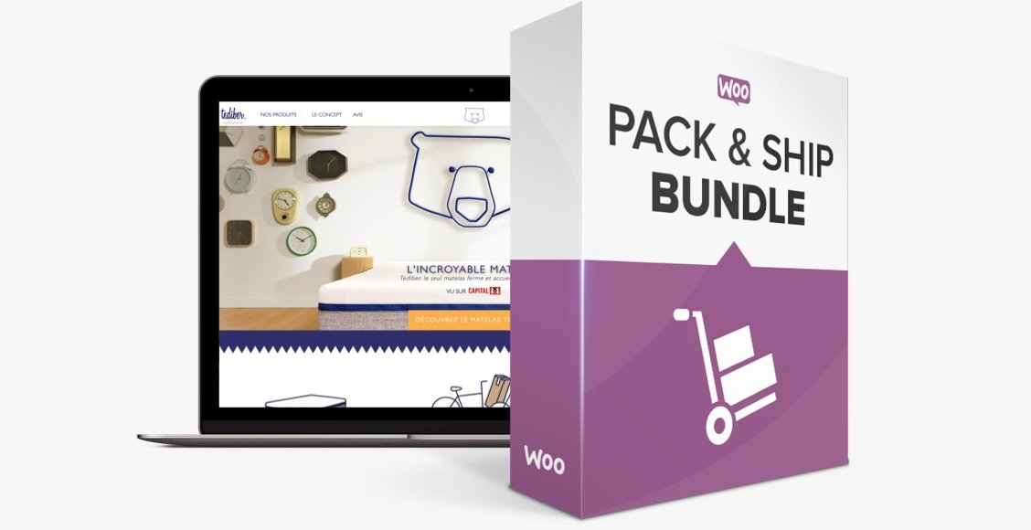 WooCommerce Pack & Ship Bundle