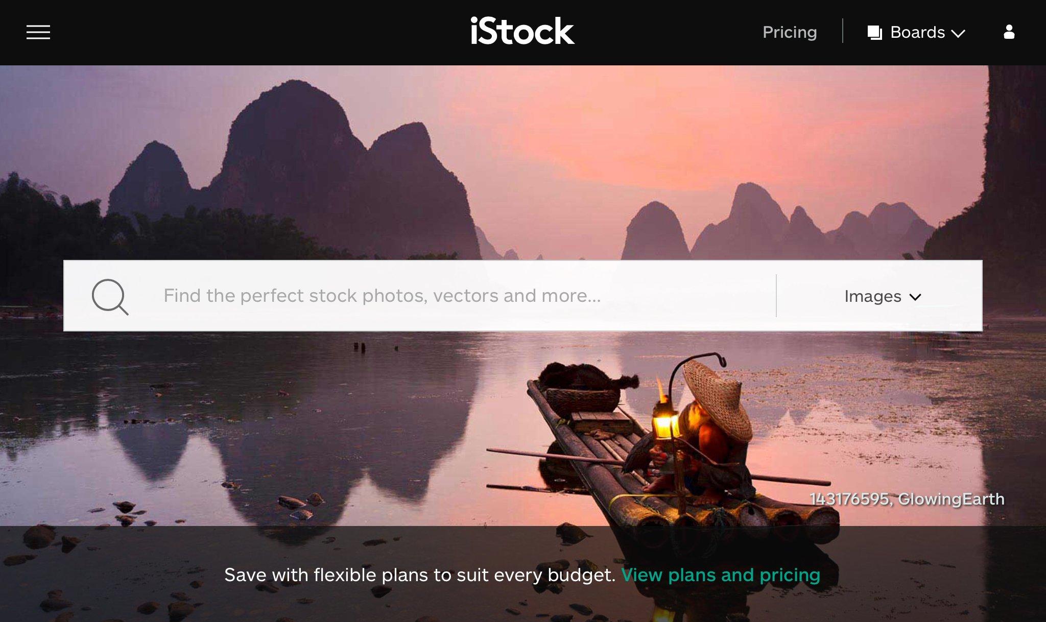 iStock Plans
