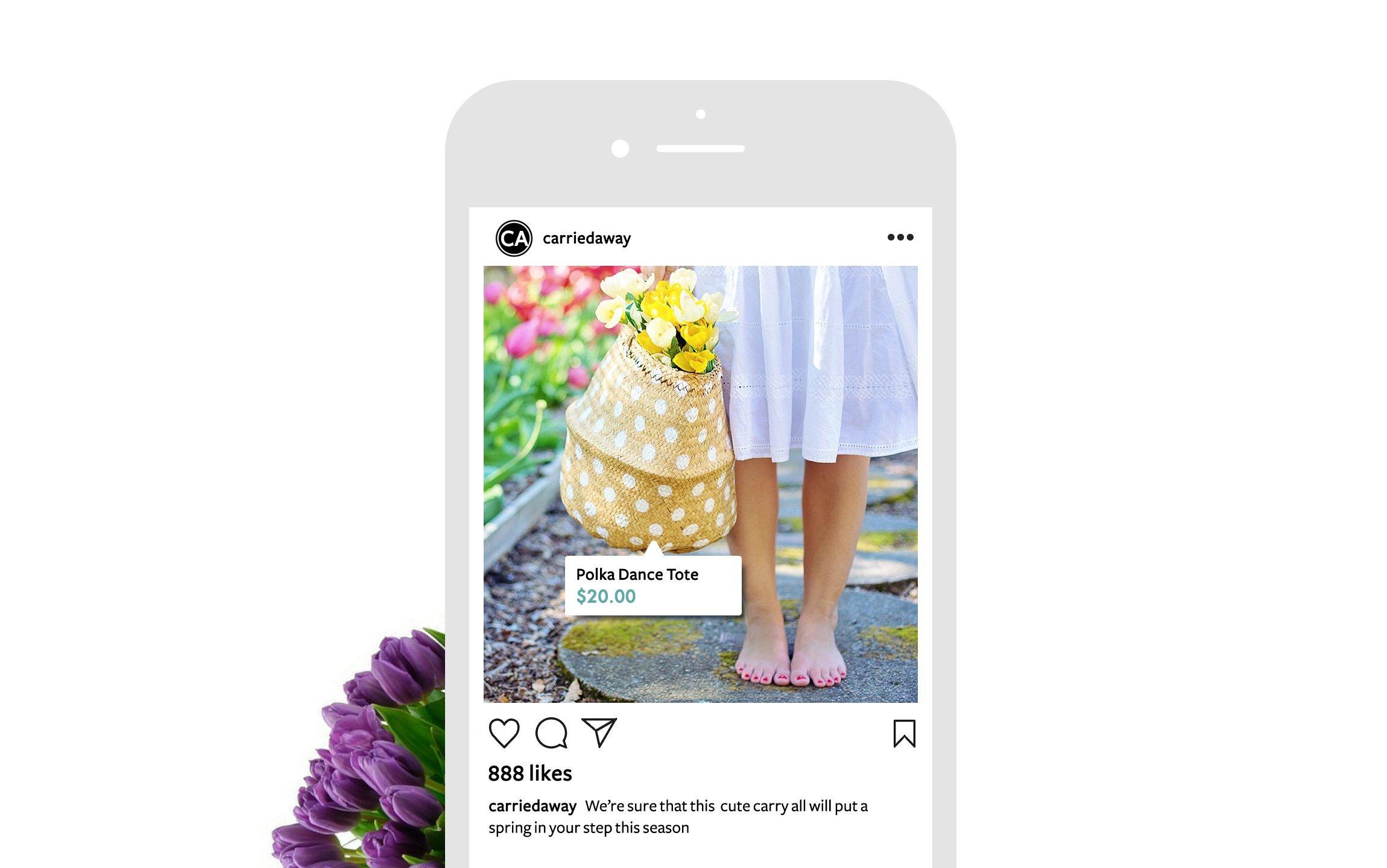 Instagram Shopping Post