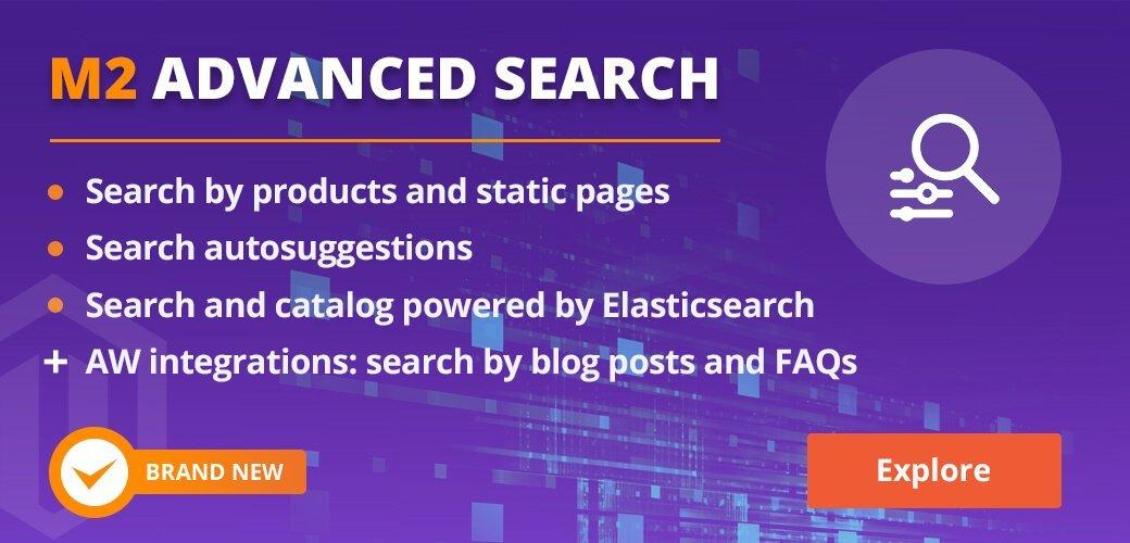M2 Advanced Search