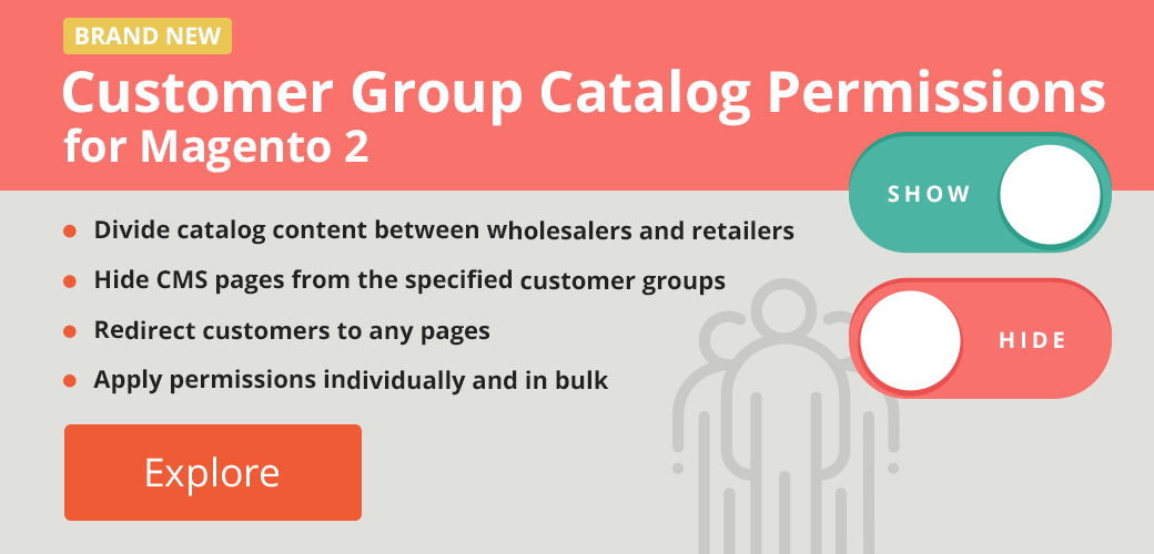 M2 Customer Group Catalog Permissions