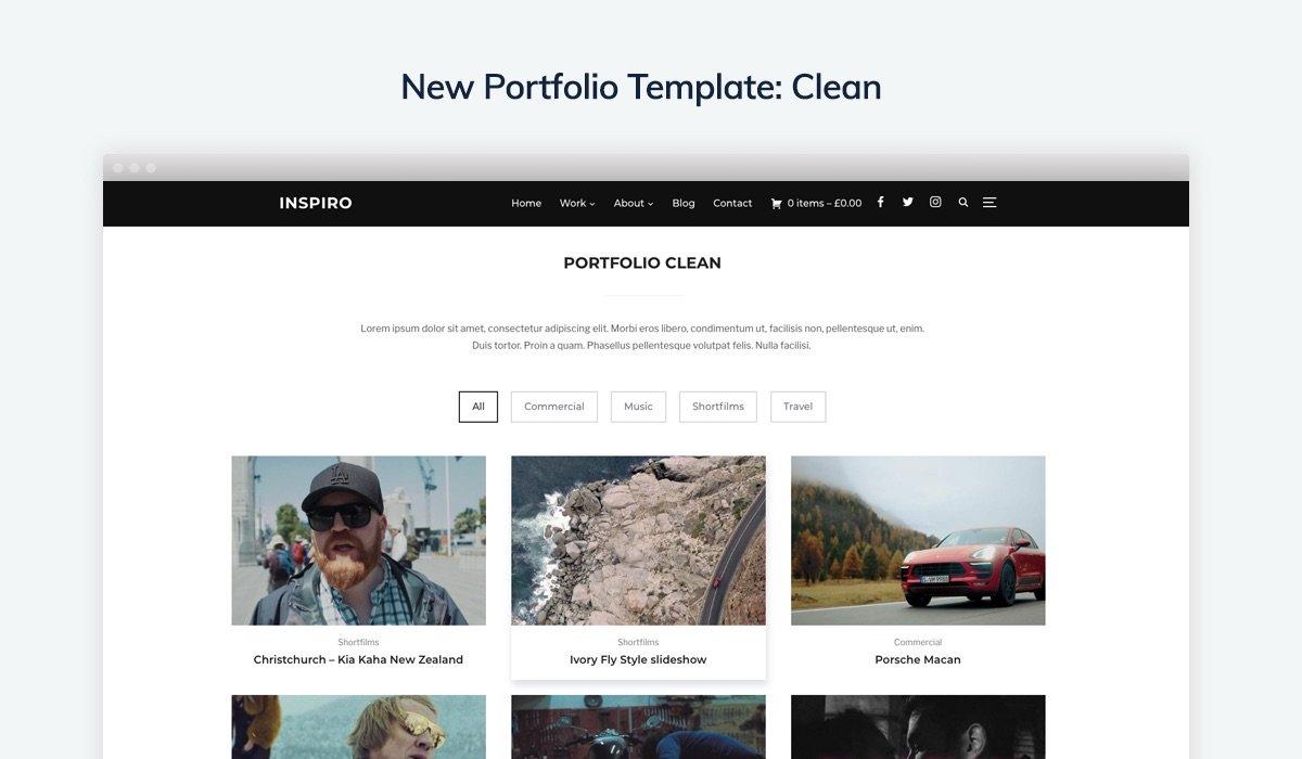 Clean Portfolio