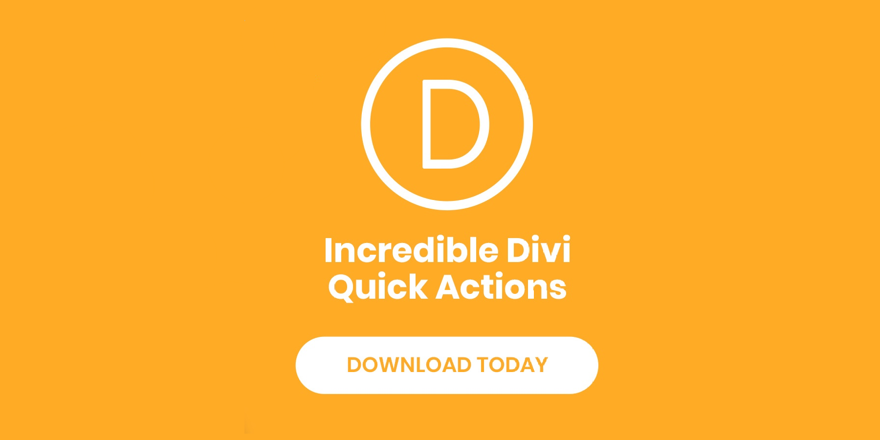 Elegant Themes: New Divi Quick Actions For Faster Web Design